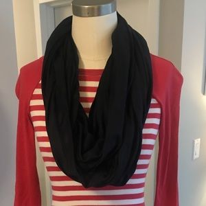 Accessories - Navy infinity scarf